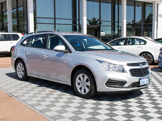 Used Holden Cruze JH Series II MY15 CD Sportwagon, 2015 Holden Cruze JH Series II MY15 CD Sportwagon Silver 6 Speed Sports Automatic Wagon