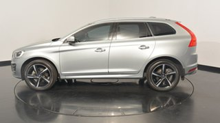 2016 Volvo XC60 DZ MY16 D5 Geartronic AWD R-Design Silver 6 Speed Sports Automatic Wagon.