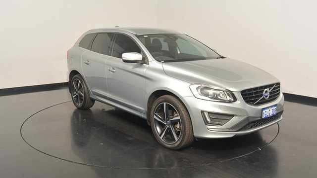 Used Volvo XC60 DZ MY16 D5 Geartronic AWD R-Design, 2016 Volvo XC60 DZ MY16 D5 Geartronic AWD R-Design Silver 6 Speed Sports Automatic Wagon