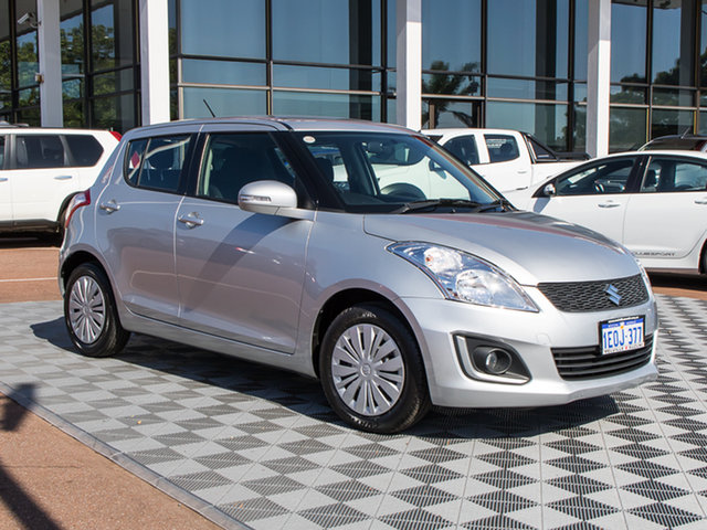 Used Suzuki Swift FZ MY14 GL Navigator, 2014 Suzuki Swift FZ MY14 GL Navigator Silver 5 Speed Manual Hatchback