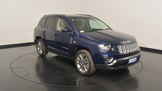 2014 Jeep Compass MK MY14 Limited True Blue 6 Speed Sports Automatic Wagon.