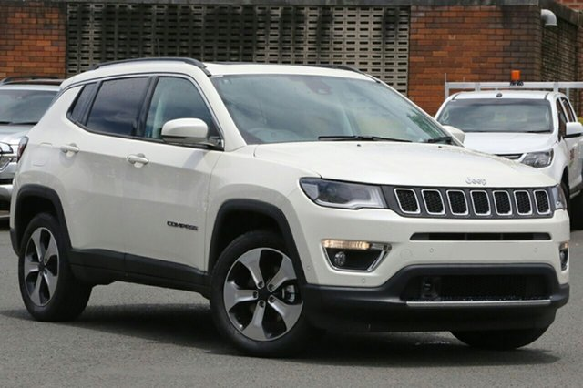 New Jeep Compass M6 MY18 Limited, 2018 Jeep Compass M6 MY18 Limited Vocal White 9 Speed Automatic Wagon