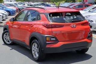 2017 Hyundai Kona OS MY18 Active D-CT AWD Tangerine Comet 7 Speed Sports Automatic Dual Clutch Wagon.