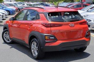 2017 Hyundai Kona OS MY18 Active D-CT AWD Tangerine Comet 7 Speed Sports Automatic Dual Clutch Wagon.