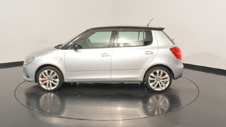 2012 Skoda Fabia 5JF MY13 RS DSG 132TSI Silver 7 Speed Sports Automatic Dual Clutch Hatchback.