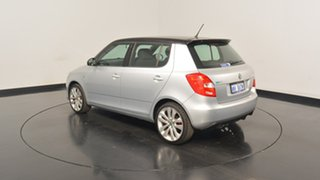 2012 Skoda Fabia 5JF MY13 RS DSG 132TSI Silver 7 Speed Sports Automatic Dual Clutch Hatchback