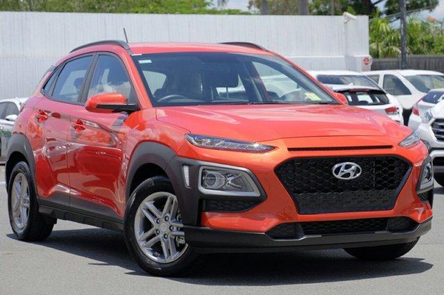 New Hyundai Kona OS MY18 Active D-CT AWD, 2018 Hyundai Kona OS MY18 Active D-CT AWD Tangerine Comet 7 Speed Sports Automatic Dual Clutch Wagon