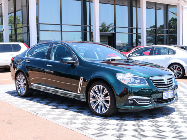 Used Holden Calais VF MY14 V, 2014 Holden Calais VF MY14 V Regal Peacock 6 Speed Sports Automatic Sedan