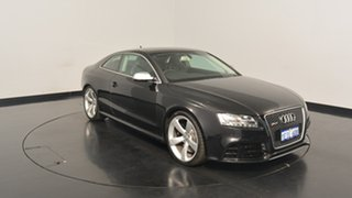 2011 Audi RS5 8T MY11 S tronic quattro Black 7 Speed Sports Automatic Dual Clutch Coupe.