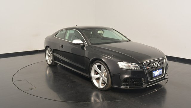 Used Audi RS5 8T MY11 S tronic quattro, 2011 Audi RS5 8T MY11 S tronic quattro Black 7 Speed Sports Automatic Dual Clutch Coupe