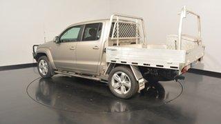 2013 Volkswagen Amarok 2H MY13 TDI420 4Motion Perm Ultimate Beige 8 Speed Automatic Utility.