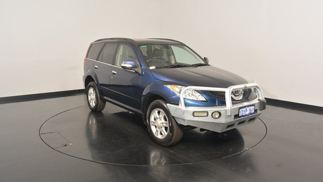 Used Great Wall X200 K2 MY12 , 2012 Great Wall X200 K2 MY12 Blue 6 Speed Manual Wagon