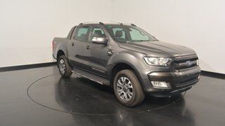 2017 Ford Ranger PX MkII Wildtrak Double Cab Magnetic 6 Speed Manual Utility.