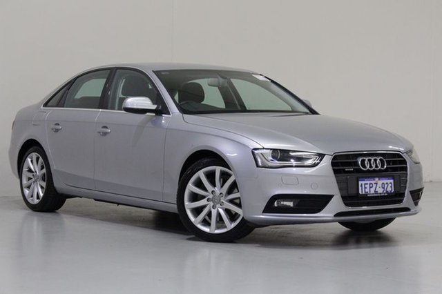 Used Audi A4 B8 (8K) MY14 2.0 TFSI Quattro, 2014 Audi A4 B8 (8K) MY14 2.0 TFSI Quattro Silver 7 Speed Auto Direct Shift Sedan