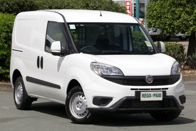 Demo Fiat Doblo 263 Series 1 Low Roof SWB Comfort-matic, 2017 Fiat Doblo 263 Series 1 Low Roof SWB Comfort-matic White 5 Speed Sports Automatic Single Clutch