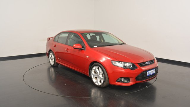 Used Ford Falcon FG MkII XR6, 2012 Ford Falcon FG MkII XR6 Red 6 Speed Sports Automatic Sedan
