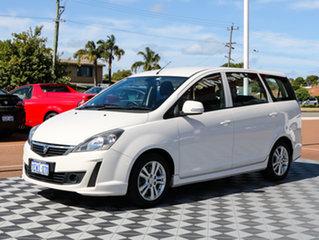 2014 Proton Exora FZ GX White 6 Speed Constant Variable Wagon.