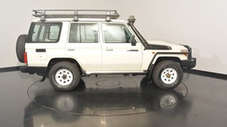 2013 Toyota Landcruiser VDJ76R MY13 Workmate White 5 Speed Manual Wagon