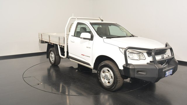 Used Holden Colorado RG MY13 LX, 2012 Holden Colorado RG MY13 LX White 5 Speed Manual Cab Chassis