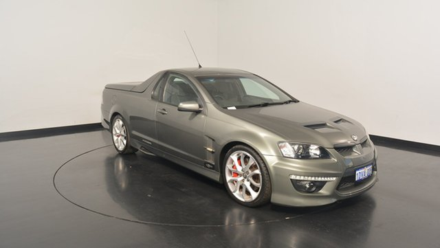 Used Holden Special Vehicles Maloo E Series 3 R8, 2011 Holden Special Vehicles Maloo E Series 3 R8 Alto Grey 6 Speed Manual Utility
