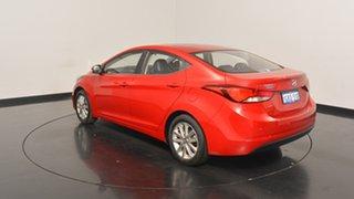 2014 Hyundai Elantra MD3 Trophy Brilliant Red 6 Speed Sports Automatic Sedan.