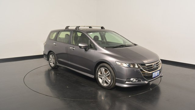 Used Honda Odyssey 4th Gen MY13 Luxury, 2013 Honda Odyssey 4th Gen MY13 Luxury Grey 5 Speed Sports Automatic Wagon