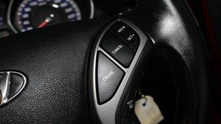2014 Hyundai Elantra MD3 Trophy Brilliant Red 6 Speed Sports Automatic Sedan