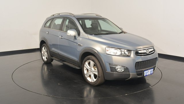 Used Holden Captiva CG Series II 7 AWD LX, 2011 Holden Captiva CG Series II 7 AWD LX Grey 6 Speed Sports Automatic Wagon