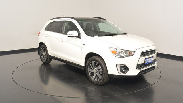 Used Mitsubishi ASX XB MY15 XLS 2WD, 2014 Mitsubishi ASX XB MY15 XLS 2WD White 6 Speed Constant Variable Wagon