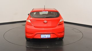 2016 Hyundai Accent RB4 MY17 Active Veloster Red 6 Speed Manual Hatchback