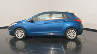 2016 Hyundai i30 GD4 Series II MY17 Active Dazzling Blue 6 Speed Sports Automatic Hatchback.
