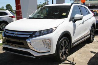 2019 Mitsubishi Eclipse Cross YA MY20 LS 2WD White 8 Speed Constant Variable Wagon.