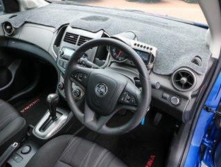 2012 Holden Barina TM MY13 CD Blue 6 Speed Automatic Hatchback