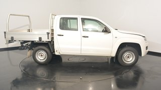 2015 Volkswagen Amarok 2H MY15 TDI420 White 8 Speed Automatic Cab Chassis