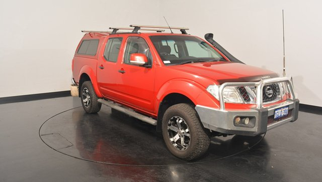 Used Nissan Navara D40 S6 MY12 ST, 2013 Nissan Navara D40 S6 MY12 ST Red 5 Speed Sports Automatic Utility