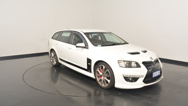 Used Holden Special Vehicles Clubsport E Series 2 R8 Tourer, 2009 Holden Special Vehicles Clubsport E Series 2 R8 Tourer White 6 Speed Sports Automatic Wagon