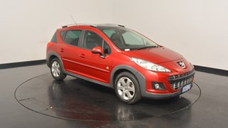 2009 Peugeot 207 A7 Series II MY10 Outdoor Touring Red 4 Speed Sports Automatic Wagon