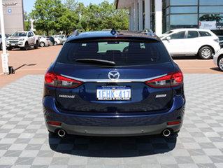2013 Mazda 6 GJ1031 Touring SKYACTIV-Drive Blue 6 Speed Sports Automatic Wagon