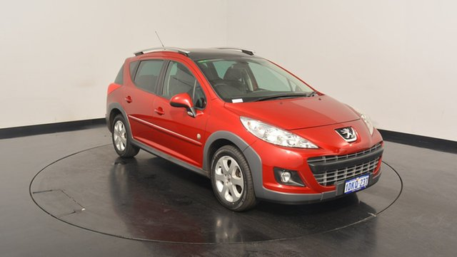 Used Peugeot 207 A7 Series II MY10 Outdoor Touring, 2009 Peugeot 207 A7 Series II MY10 Outdoor Touring Red 4 Speed Sports Automatic Wagon