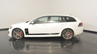 2009 Holden Special Vehicles Clubsport E Series 2 R8 Tourer White 6 Speed Sports Automatic Wagon.