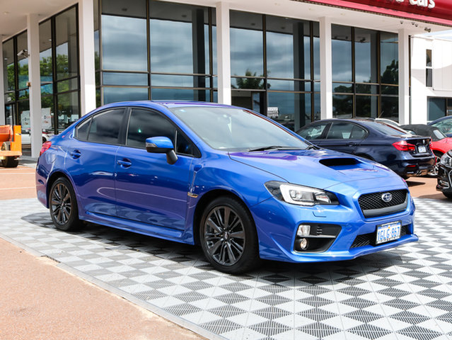 Used Subaru WRX V1 MY15 AWD, 2014 Subaru WRX V1 MY15 AWD Blue 6 Speed Manual Sedan