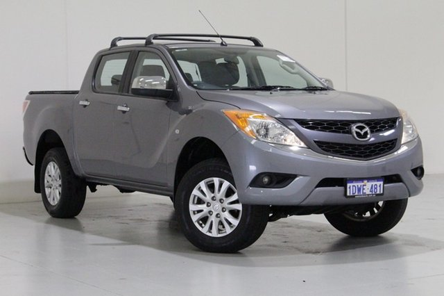 Used Mazda BT-50  XTR (4x2), 2012 Mazda BT-50 XTR (4x2) Grey 6 Speed Manual Dual Cab Utility
