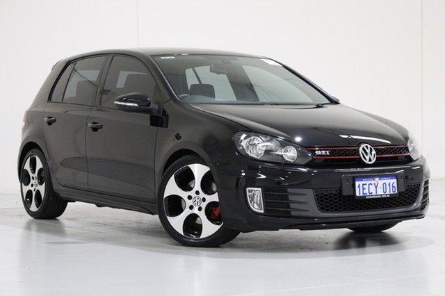 Used Volkswagen Golf 1K MY13 GTi, 2013 Volkswagen Golf 1K MY13 GTi Black 6 Speed Direct Shift Hatchback