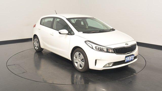 Used Kia Cerato YD MY17 S, 2017 Kia Cerato YD MY17 S White Pearl 6 Speed Sports Automatic Hatchback