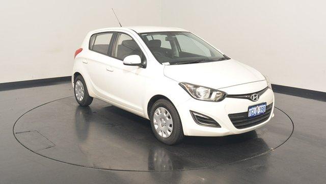 Used Hyundai i20 PB MY15 Active, 2015 Hyundai i20 PB MY15 Active White 6 Speed Manual Hatchback