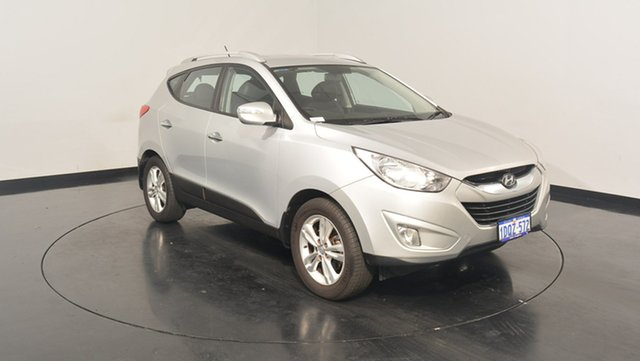 Used Hyundai ix35 LM MY12 Elite AWD, 2011 Hyundai ix35 LM MY12 Elite AWD Sleek Silver 6 Speed Sports Automatic Wagon