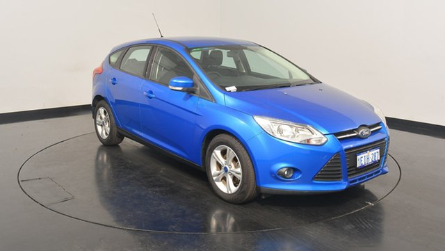Used Ford Focus LW MKII Trend, 2013 Ford Focus LW MKII Trend Blue 5 Speed Manual Hatchback