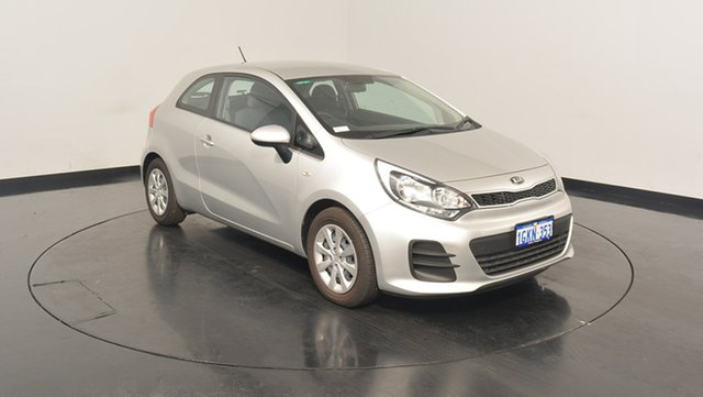 Used Kia Rio UB MY16 S, 2016 Kia Rio UB MY16 S Silver 4 Speed Sports Automatic Hatchback