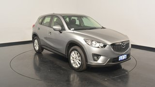 2012 Mazda CX-5 KE1071 Maxx SKYACTIV-Drive AWD Sport Aluminium Grey 6 Speed Sports Automatic Wagon.
