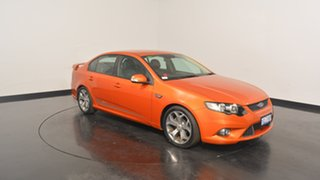 2010 Ford Falcon FG XR6 50th Anniversary Orange 6 Speed Sports Automatic Sedan